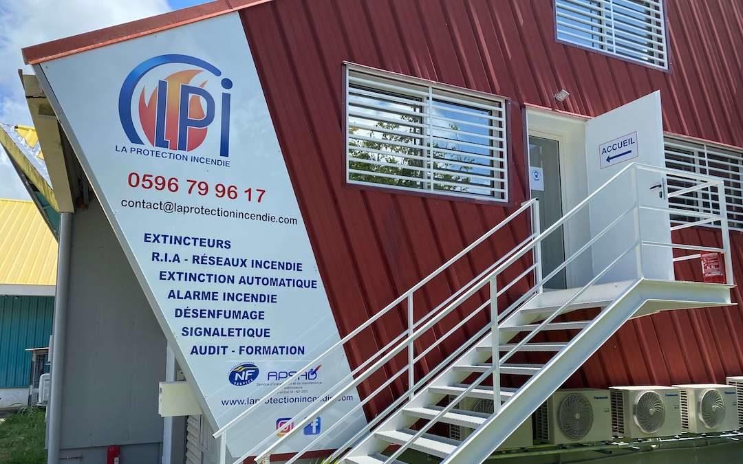 Nouveaux locaux en Martinique